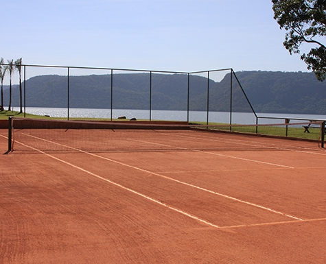 Quadra de tennis